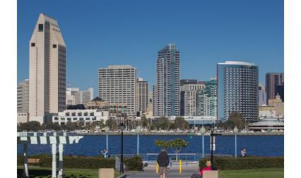 Изглед от Сан Диего, САЩ