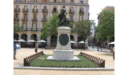 Площадът на Жирона