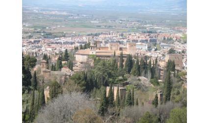 Гранада - изглед от високо