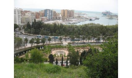 Малага - изглед към пристанището