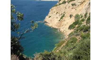 Тасос - красив залив