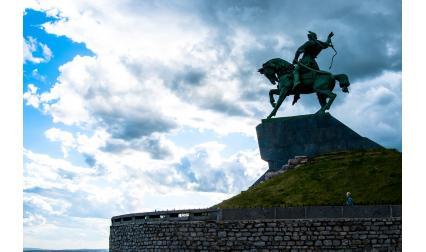 Паметник в град Уфа, Русия