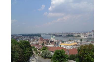 Изглед от Будапеща