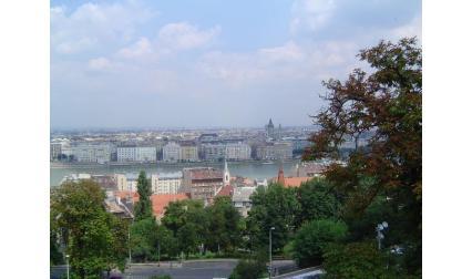 Будапеща - изглед към града