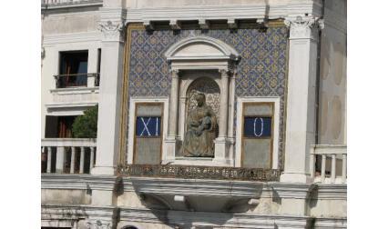 Часовниковата кула във Венеция - римски цифри