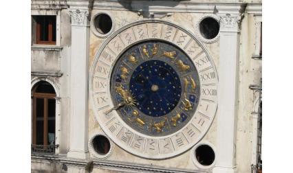 Часовниковата кула във Венеция - циферблат