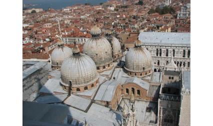 Базилика Сан Марко - Венеция - изглед от високо