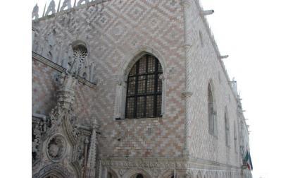 Дворецът на Дожите във Венеция - облицовка