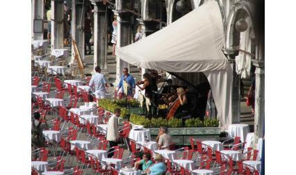 Сан Марко - площад - кафене