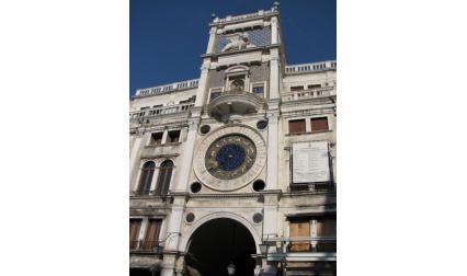 Венеция - часовникът на площад Сан Марко