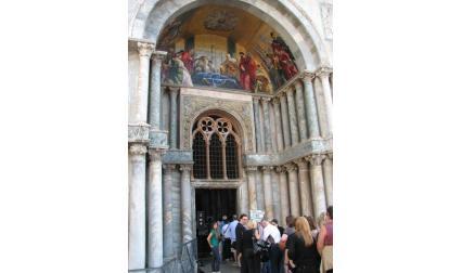 Църква Сан Марко във Венеция - вход