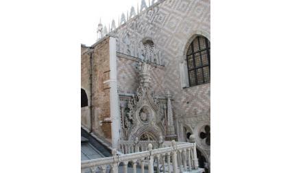 Двореца на дожите във Венеция - орнаменти