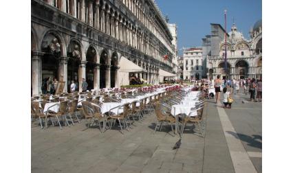 Площад Сан Марко - кафенетата