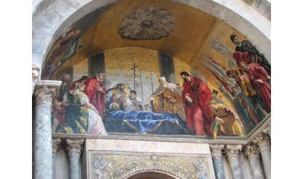 Красиви мозайки на църква Сан Марко