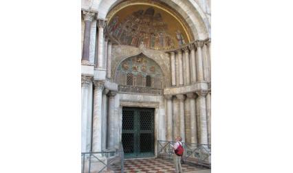 Църква Сан Марко - вход и мозайки
