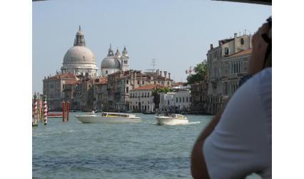 Богородица на избавлението - Венеция - изглед от Канале гранде
