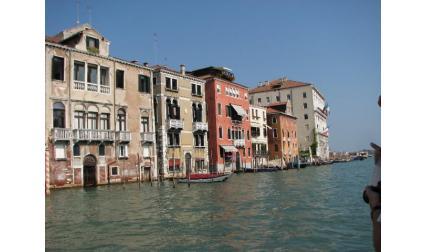Сградите по Канале гранде - Венеция
