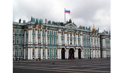 Зимният дворец, Петербург, Русия