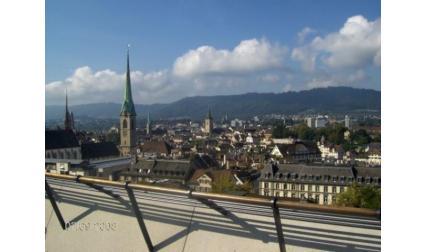 Цюрих - изглед от града