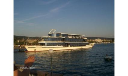 Кораб по Цюрихското езеро