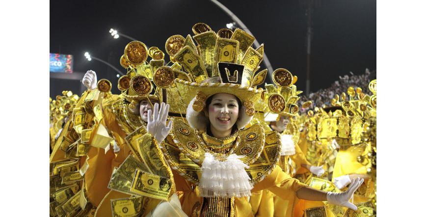 Карнавал в Сао Пауло 2015 г.