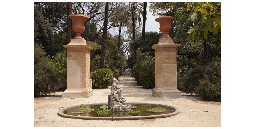 Ботаническата градина - Палермо