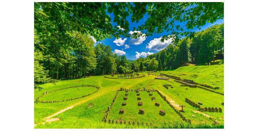 Дакийски крепости в планините Орастие