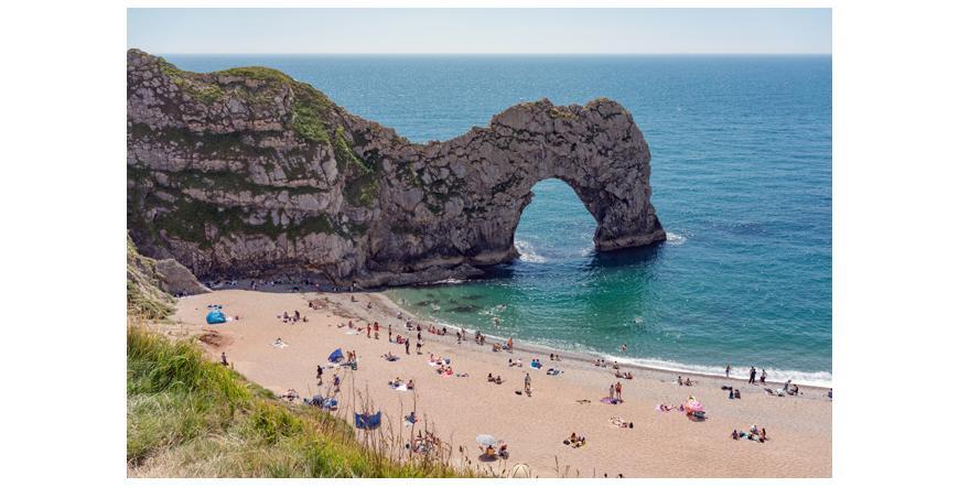 Юрският бряг, Англия