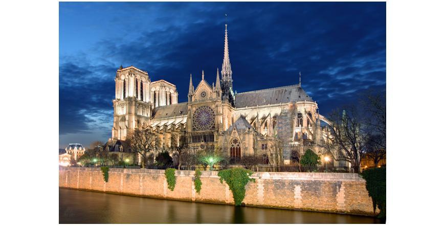 Катедралата Нотр Дам - Париж