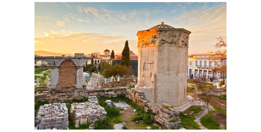 Кулата на ветровете - Атина
