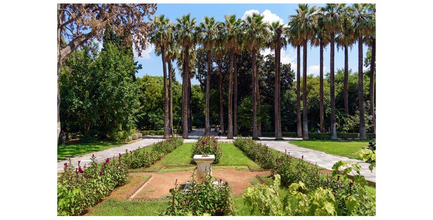 Националната градина в Атина