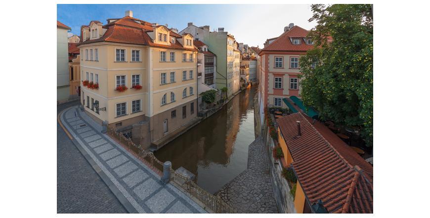Остров Кампа - Прага