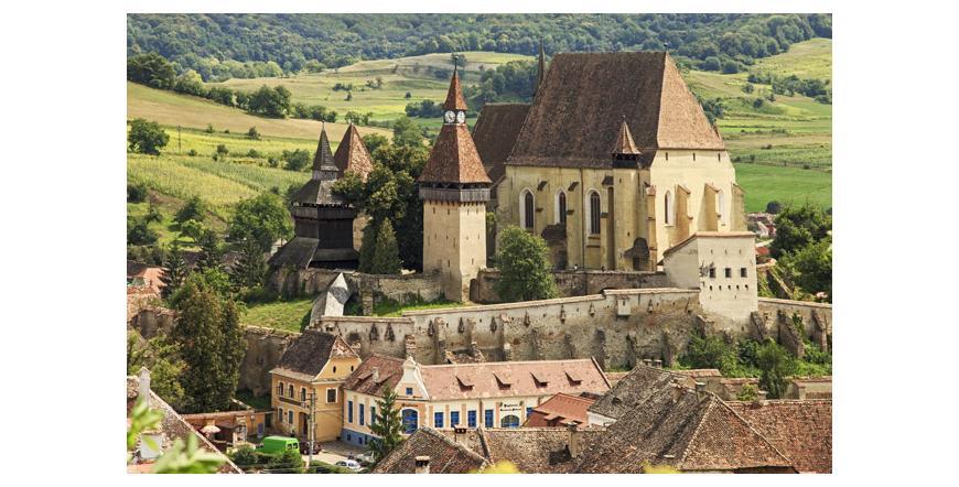 Села с укрепени църкви в Трансилвания