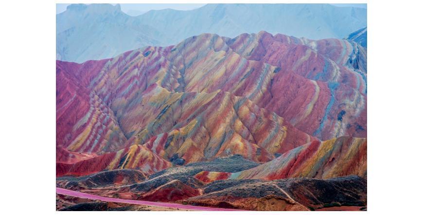 Шарените планини в Китай