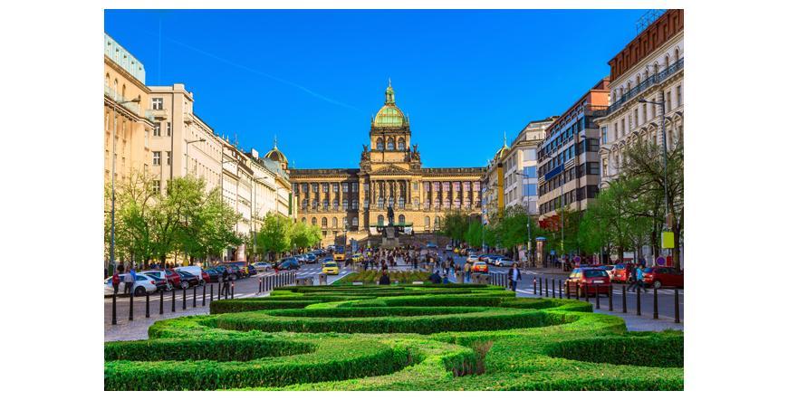 Вацлавският площад - Прага