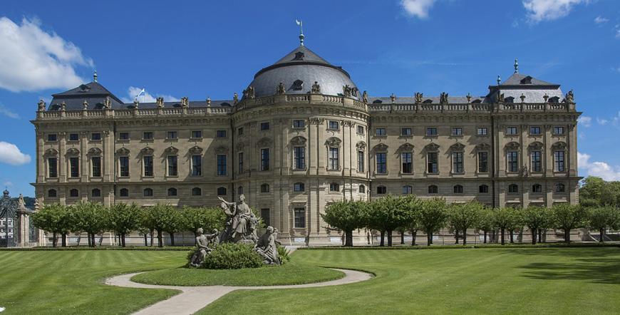 Епископският дворец във Вюрцбург