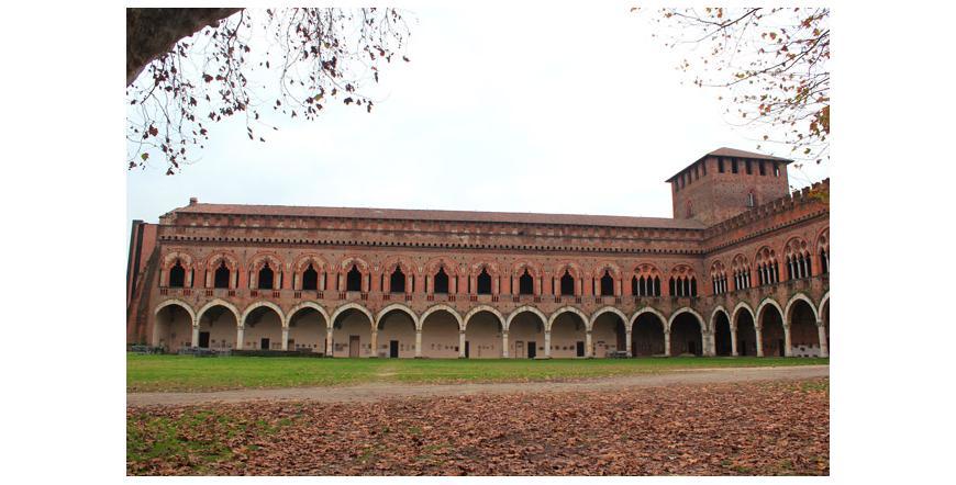 Замък Висконти - Павия