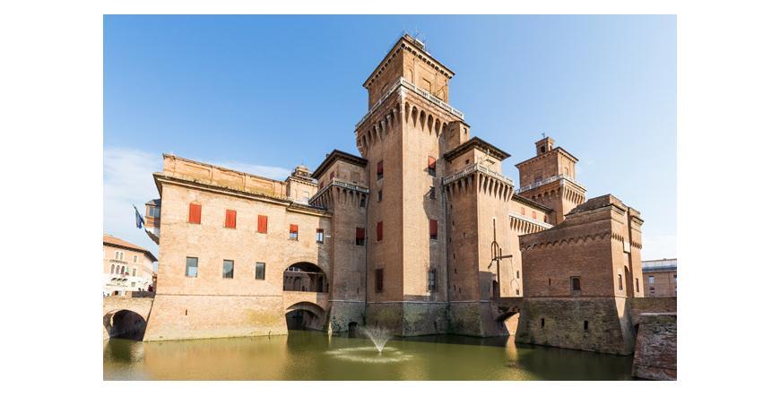 Замък на семейство Есте - Ферара