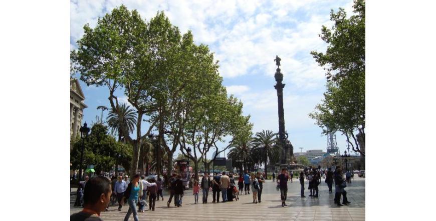 Ла Рамбла - Барселона