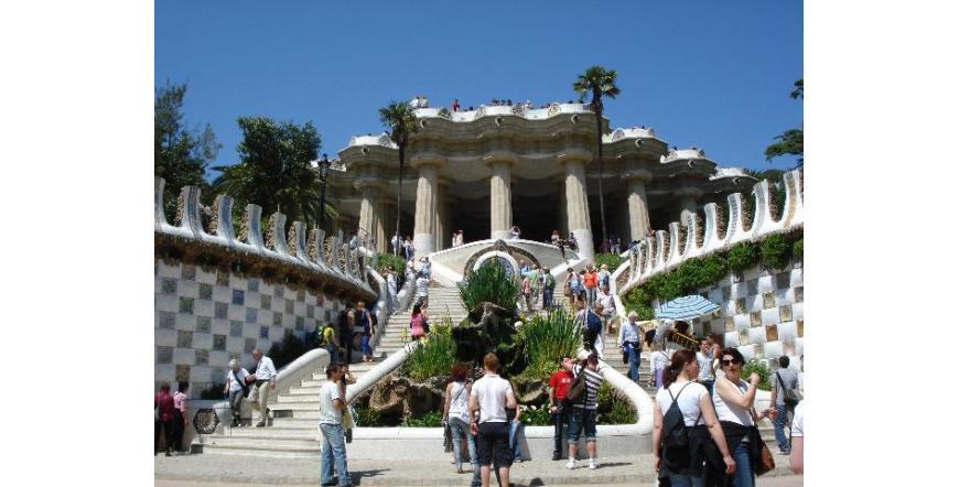 Паркът Гюел (Гуел) - Барселона