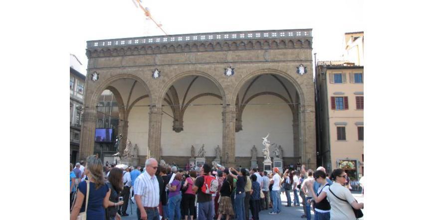 Ложията на Синьорията - Флоренция