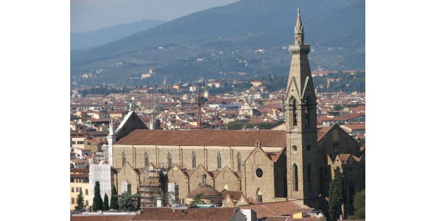 Флоренция - църква Санта Кроче