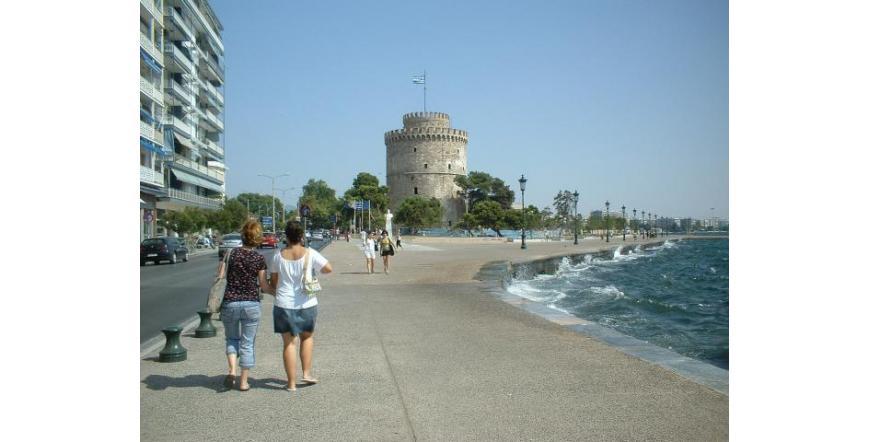 Бялата кула - Солун