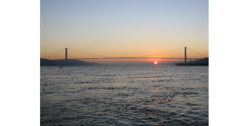 Истанбул - мостът над Босфора