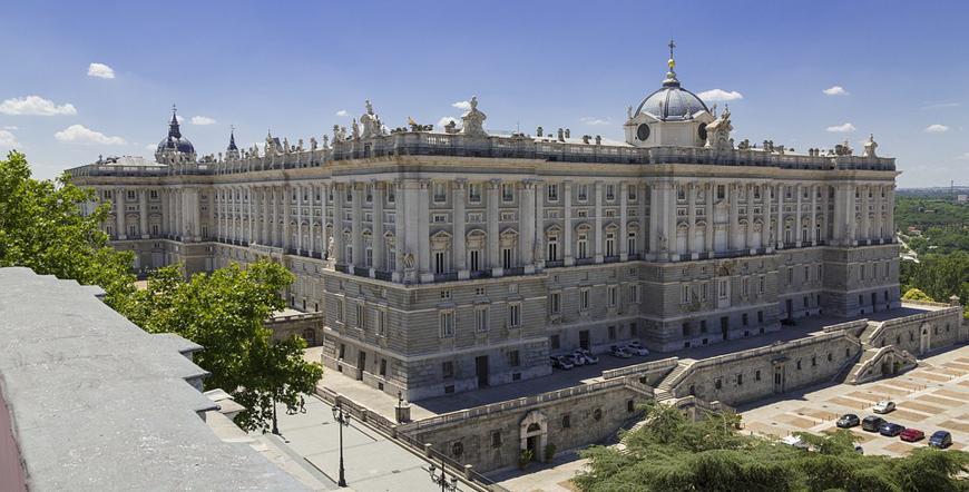 Кралският дворец - Мадрид