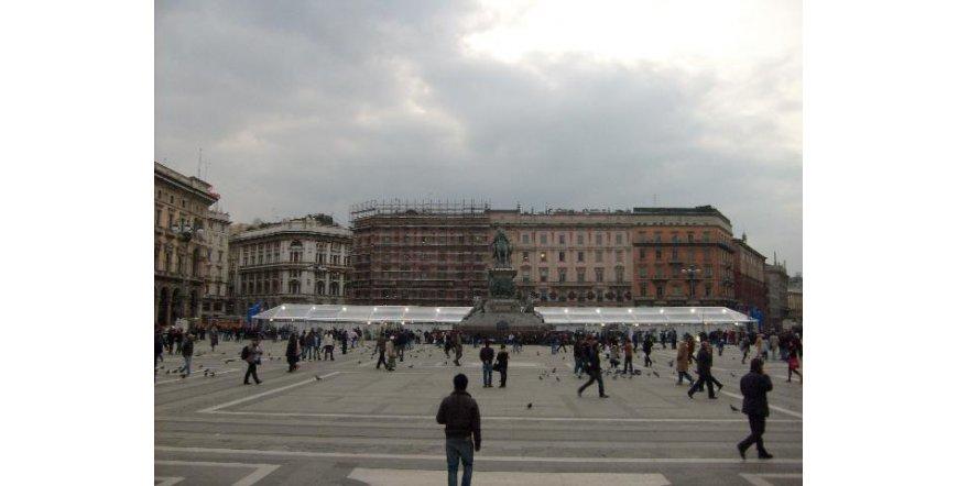 Милано - Кралският дворец
