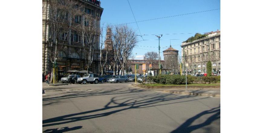Замъка на Сфорците - Милано