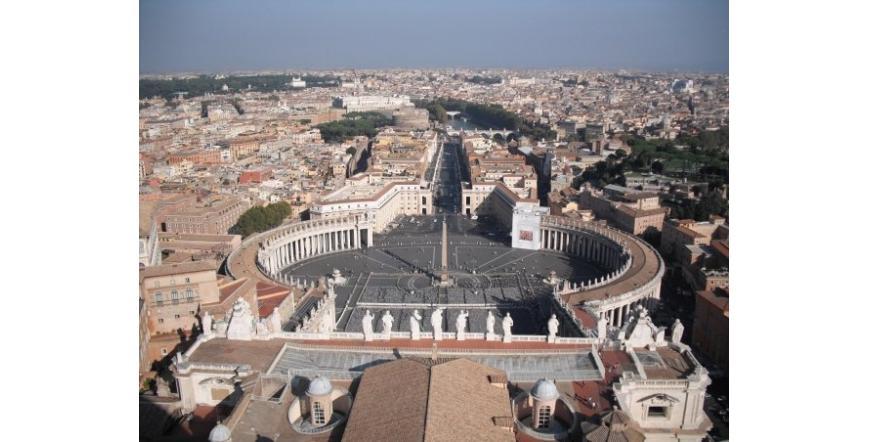 Площад Свети Петър - Ватиканът