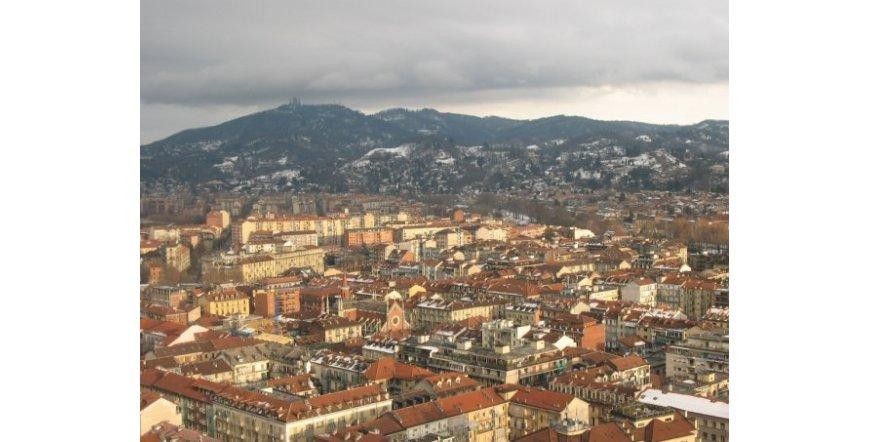 Торино - изглед от зданието на Антонели