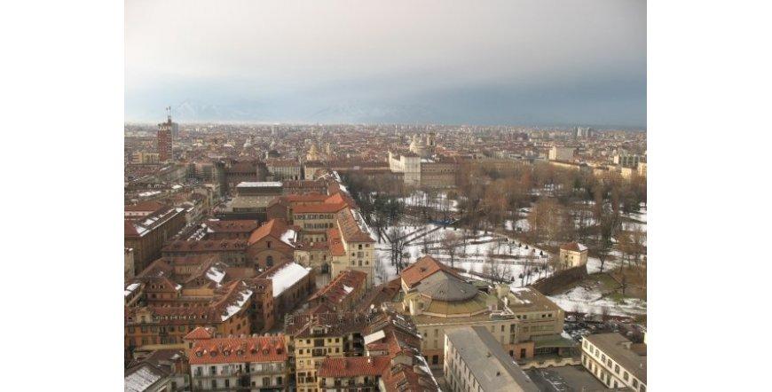 Торино - изглед към центъра